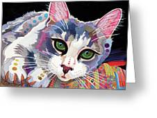 Bella Greeting Card by Bob Coonts