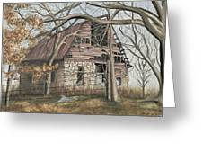 Bella Vista Barn Greeting Card by Patty Vicknair