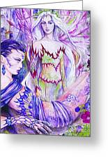 Belladona From The Fiary Collection Greeting Card by Morgan Fitzsimons