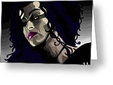 Bellatrix Greeting Card by Lisa Leeman