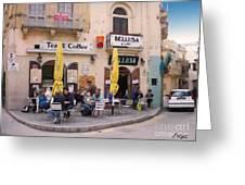 Bellusa Cafe No. 1 Greeting Card by Sascha Meyer
