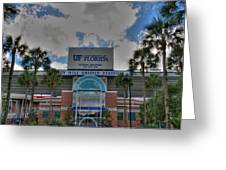 Ben Hill Griffin Stadium Greeting Card by Dean Traiger