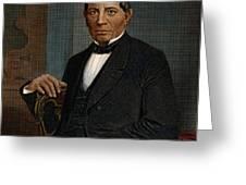 BENITO JUAREZ (1806-1872) Greeting Card by Granger