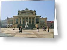 Berlin - Gendarmenmarkt Greeting Card by Marc Huebner