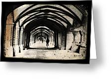 Berlin Arches Greeting Card by Andrew Paranavitana