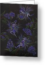 Berry Blues Greeting Card by Dawn Fairies