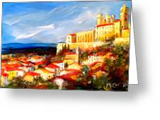 Beziers Greeting Card by K McCoy