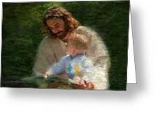 Bible Stories Greeting Card by Greg Olsen