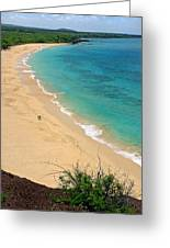 Big Beach Greeting Card by Pierre Leclerc Photography