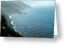 Big Sur Majesty Greeting Card by Charlene Mitchell