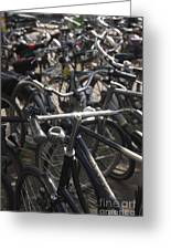 Bikes Bikes Bikes Greeting Card by Andy Smy