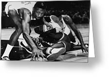 BILL RUSSELL (1934- ) Greeting Card by Granger