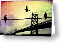 Birds Eye View Greeting Card by Bill Cannon