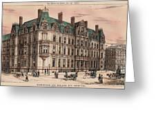 Birmingham And Midland Eye Hospital United Kingdom 1882 Greeting Card by Payne and Talbot