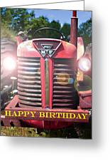 Birthday Card -- Big M-f Greeting Card by Bob Johnson