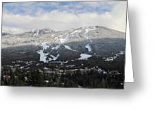 Blackcomb Mountain Greeting Card by Pierre Leclerc Photography