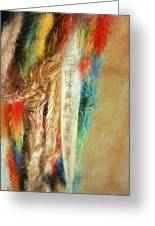 Blessed Are The Peacemakers - Paper Cranes Greeting Card by Geoffrey C Lewis