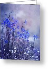 Bluebell Heaven Greeting Card by Priska Wettstein