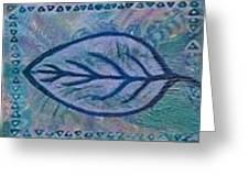 Bluedreams Greeting Card by Anne-Elizabeth Whiteway