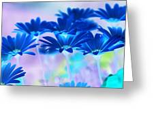 Bluemination Greeting Card by Robin Webster