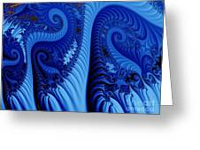 Blues Greeting Card by Ron Bissett