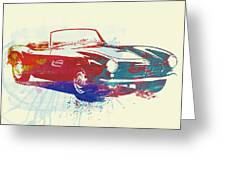 Bmw 507 Greeting Card by Naxart Studio