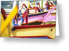 Boats In Bali Greeting Card by Dana Edmunds - Printscapes