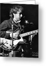 Bob Dylan (1941- ) Greeting Card by Granger