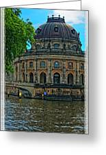 Bode Museum Greeting Card by Joan Carroll