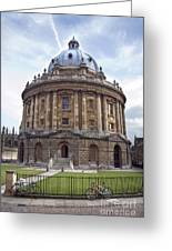Bodlien Library Radcliffe Camera Greeting Card by Jane Rix