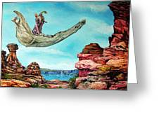 Bogomils Journey Greeting Card by Otto Rapp
