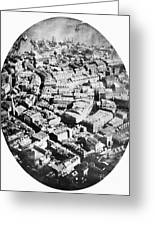 Boston 1860 Greeting Card by Granger