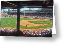 Boston Fenway Park Greeting Card by Juergen Roth