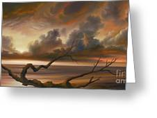 Botany Bay Greeting Card by James Christopher Hill