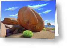 Boulders Greeting Card by Snake Jagger