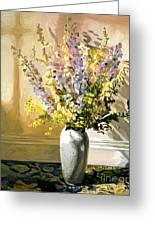 Bouquet Impressions Greeting Card by David Lloyd Glover