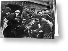 Boys Shooting Craps, C1910 Greeting Card by Granger