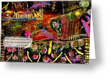 Brazilian Festival Greeting Card by Angela L Walker