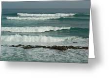 Breaking Waves Puerto Rico Greeting Card by Patty Vicknair