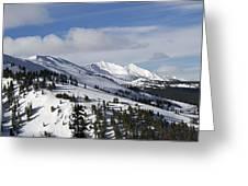Breckenridge Resort Colorado Greeting Card by Brendan Reals