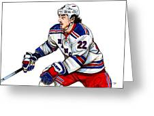 Brian Boyle Greeting Card by Dave Olsen