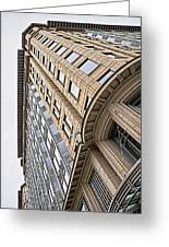 Brick And Steel And Glass Greeting Card by Christopher Holmes