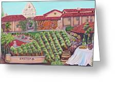 Bridlewood Estates Greeting Card by Mikki Alhart