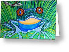 Bright Eyes 2 Greeting Card by Nick Gustafson
