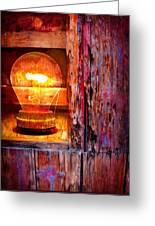 Bright Idea Greeting Card by Skip Hunt
