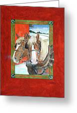 Bright Spirits Greeting Card by Christie Michelsen