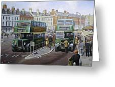 Bristols At Weymouth Greeting Card by Mike  Jeffries