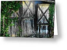 Broken Barn door Greeting Card by Joyce Kimble Smith