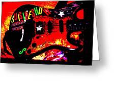 Broken Epi Greeting Card by Curt Curt
