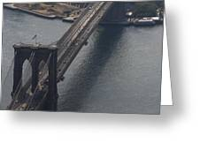Brooklyn Bridge from The Beekman Greeting Card by Christopher Kirby